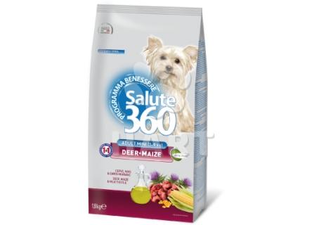 SALUTE 360 mini adult JELEN+kukuřice 1,8kg