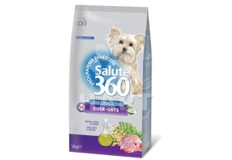 SALUTE 360  mini adult  KACHNA+oves    1,8kg
