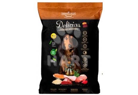 Delicias Adult - měkké polovlhké krmivo pro dospělé psy 9kg