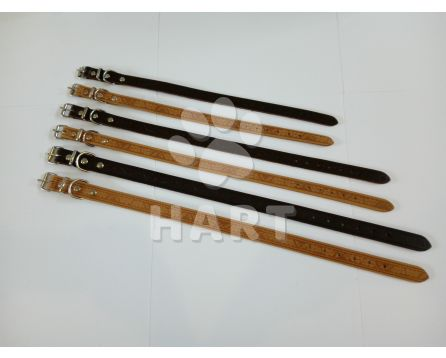 Obojek kožený typ GRAZL š.18mm, dl.45cm