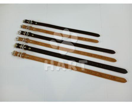 Obojek kožený typ GRAZL š.18mm, dl.50cm
