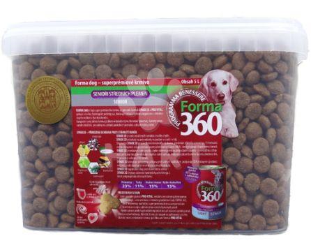 Benessere dog Forma adult senior medi/maxi 5L + odměrka + masová pasta