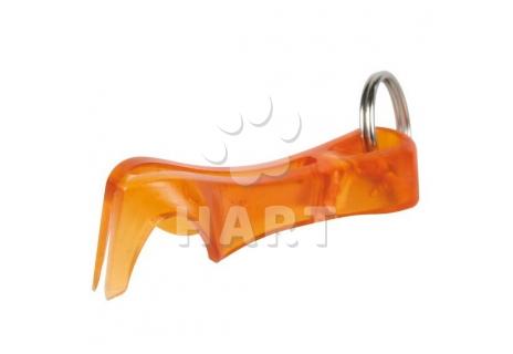 Vytahovač na klíšťata - plastová vidlička vel.cca 6,5cm, zn.TRIXIE