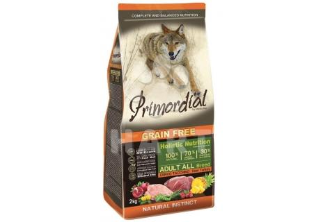 PRIMORDIAL Adult Deer&Turkey(jelen a krůta) pro dospělé psy   2kg