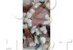 Kost vápníková se sušeným kachním masem(cca 6cm), velké balení 250g