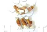 Kost vápníková se sušeným kuřecím (cca 6cm), velké balení  250g