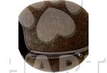 Kukaň - pelíšek variabilní vchod střed, hnědý 46x46x32.5cm 1ks