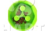 Plastová miska proti hltání jídla 0,9 litrů /prům.23 cm