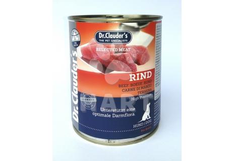 Konzerva Dr.Clauder's  hovězí maso(96% masa)    820g