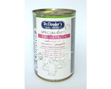 Dr.Clauder's - citlivé trávení- Spec.Diet Low Natrium 400g