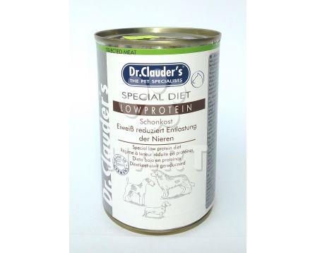 Dr.Clauder's - citlivé trávení- Spec.Diet Low Protein 400g