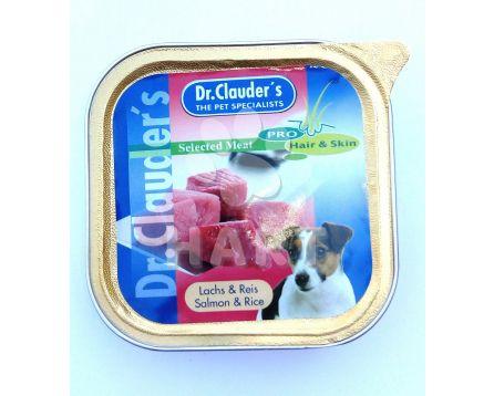 Paštika Dr.Clauder's losos 100g
