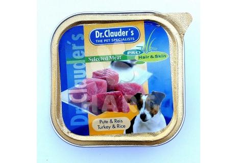 Paštika Dr.Clauder's  krůtí maso 100g