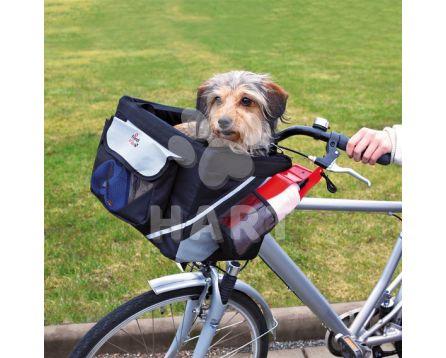 Přepravní brašna na psa - na řidítka kola (do 6kg váhy psa) , vel.38x25x25cm