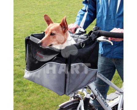 Přepravní brašna(taška) na psa - na řidítka jízdního kola (do 7kg váhy psa), vel.41x26x26cm