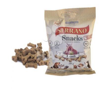 Pamlsky měkké Serrano Snack for Dog-Lamb(jehněčí) 70% masa 100g 1bal