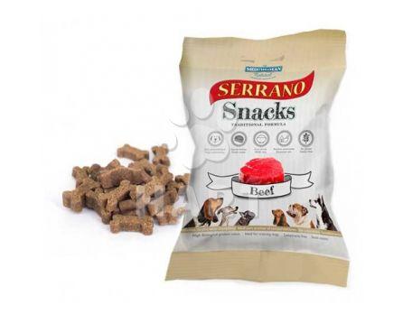 Pamlsky měkké Serrano Snack for Dog-Beef(hovězí) 70% masa 100g 1bal
