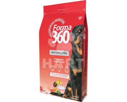 FORMA 360 dog Adult LARGE Kuře + rýže  12kg + konzerva zdarma