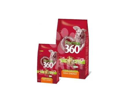 FORMA 360 dog HIGH ENERGY Medium/Maxi kuře+rýže HIGH ENERGY 12kg