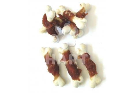 Kost vápníková se sušeným kachním masem(cca 6cm), Ideal white              1ks