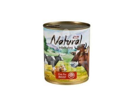 Tobby Natural Grain Free Beef - konzerva bez obilovin (hovězí) 850g