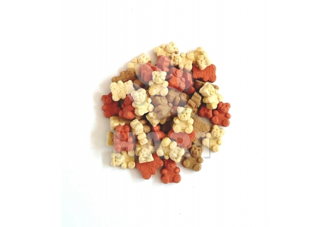 Pamlsky - MINI TEDDY BEARS MIX - mini medvídci  1kg