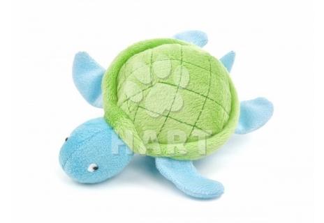 Skákací míč velký plyšová želva, prům. míče 9 cm
