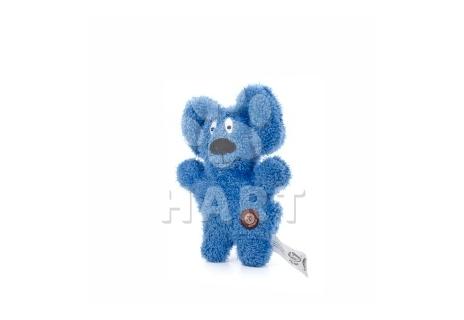 Jemný plyšový pejsek modrý, plyšová hračka vel. 24cm