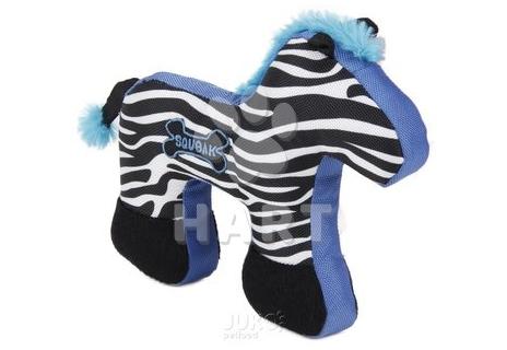 Odolná hračka-Zebra pískací, vel. 29x19,5cm