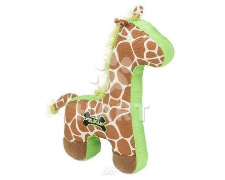 Odolná hračka-Žirafa pískací, vel. 27x26cm