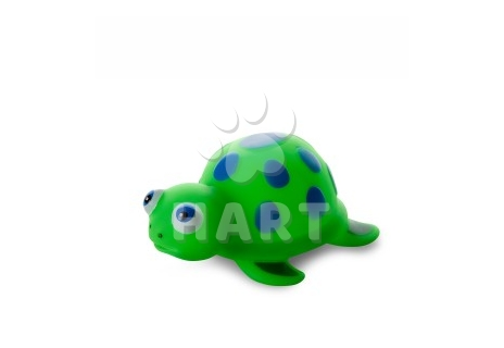Vinylová želvička, gumová hračka 13cm
