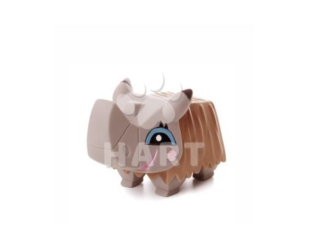 Vinylový nosorožec, gumová hračka cca 11cm