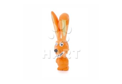 Latexový pejsek ušatý, latexová hračka cca 17 cm