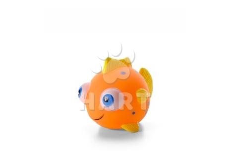 Vinylová rybka, gumová hračka 10cm