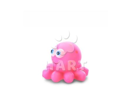 Vinylová chobotnička, gumová hračka 10cm