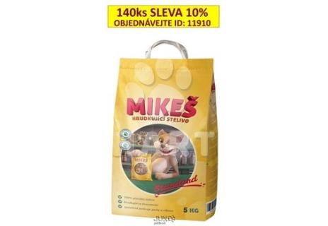 MIKEŠ standard 5kg - hrudkující bez vůně - stelivo/podestýlka