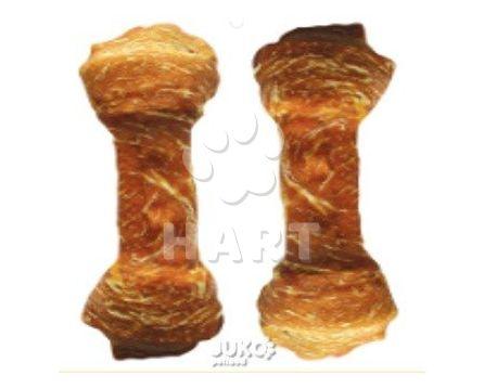 Buvolí uzel celoobalený-KUŘE 6,5cm (12-14g)