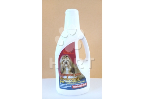 Werra šampon pro dlouhosrsté psy s kondicionerem a panthenolem   500ml