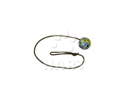 Míček na šňůrce GAPPAY, prům.7cm, šňůrka dl.1m (0727-100)