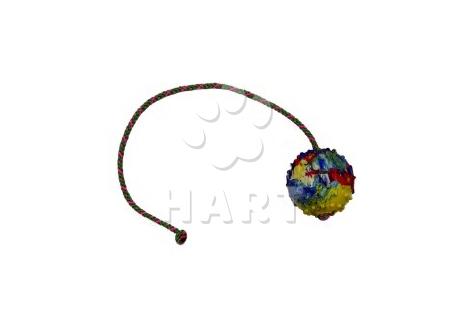 Míček na šňůrce GAPPAY, prům.6cm, šňůrka dl.50cm (0726-50)