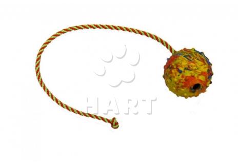 Míček na šňůrce GAPPAY, prům.7cm, šňůrka dl. 50cm (0727-50)