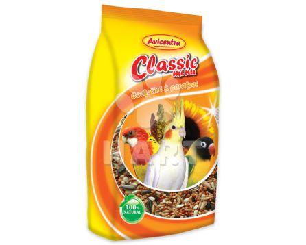 Avicentra Malý papoušek classic menu 1kg