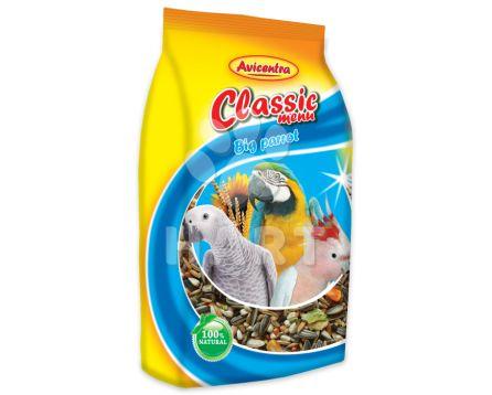 Avicentra Velký papoušek classic menu 1kg