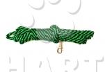 Vodítko dlouhé, zapletené, ploché, š.23mm/ dl.4m nylon