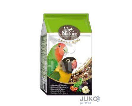 Deli Nature 5 Menu AFRICAN PARAKEETS 800g-Africký Papoušek