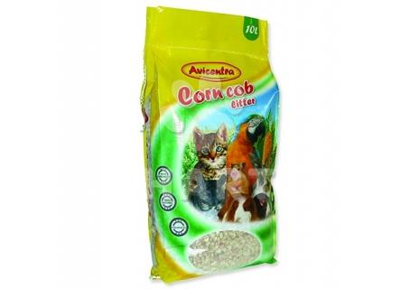 AVICENTRA 10 litrů - hrubá kukuřičná podestýlka/stelivo