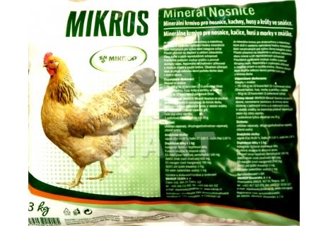 Mikros - minerál pro nosnice                   3kg