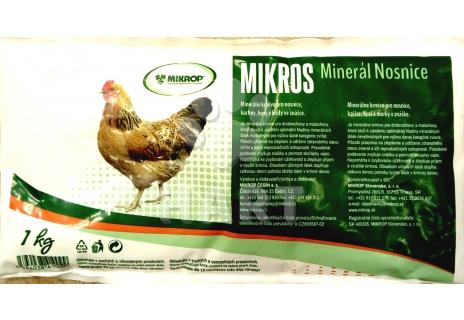 Mikros - minerál pro nosnice                   1kg