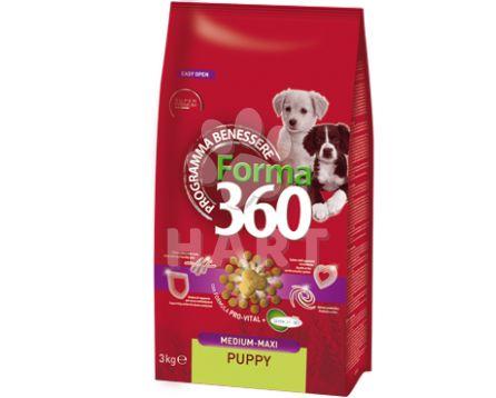 FORMA 360 Puppy  KUŘE med/maxi 12kg + konzerva ZDARMA