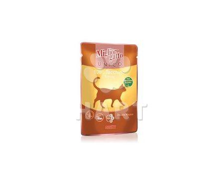 Kapsička Migliore 100% maso krůtí 85g/kočka